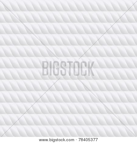 Seamless wihte gradient grid pattern like plastic or leather. Vector illustration for your artwork,