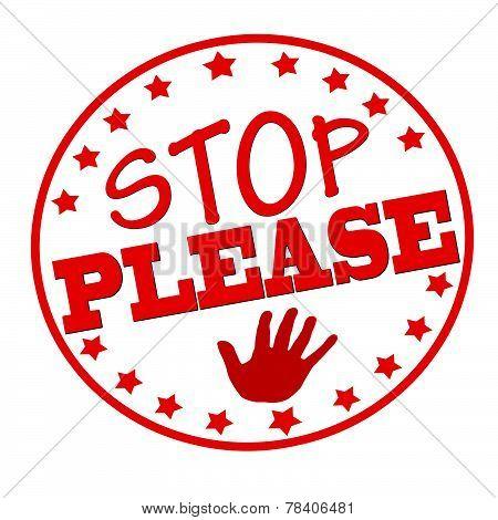 Stop please