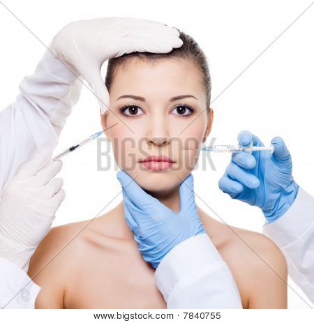 Injection In Female Skin