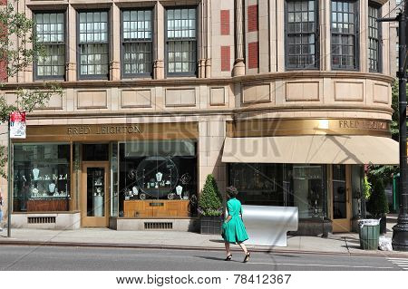 Madison Avenue Shopping