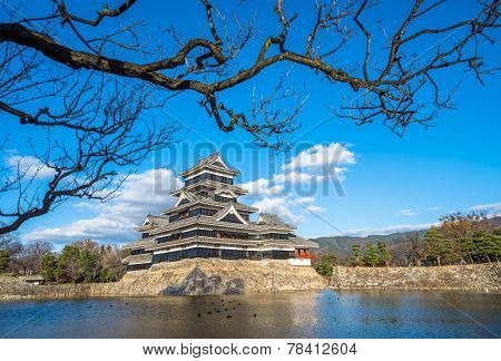 Matsumoto Castle, National Treasure Of Japan