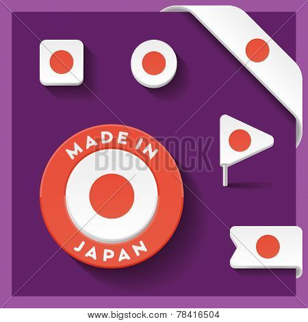 Japan Made Symbol Collection