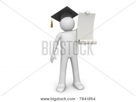 Lifestyle Collection - Senior With Blank Certificate