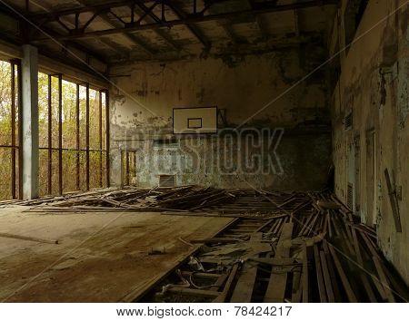 Sports Hall in Pripyat