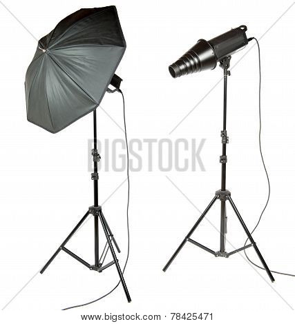 Umbrella And Snoot For Photographer