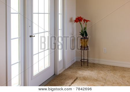 Front Door With Daylight Shining Through