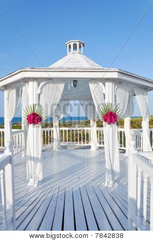 Wedding Gazebo At The Beach