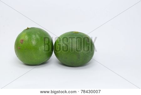 Two Green  lemon