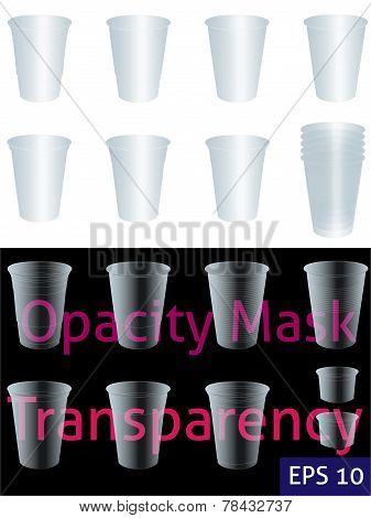 Transparent Cups