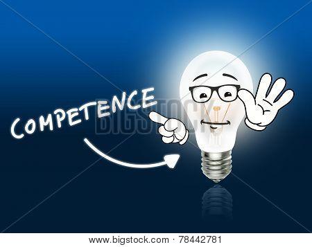 Competence  Bulb Lamp Energy Light Blue