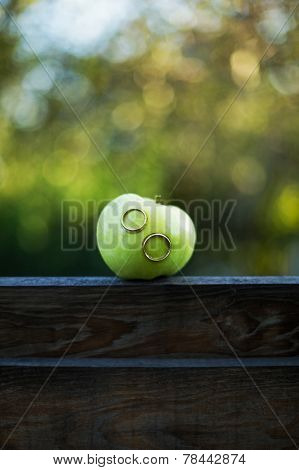 Wedding Rings In Apple