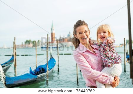 Portrait Of Happy Mother And