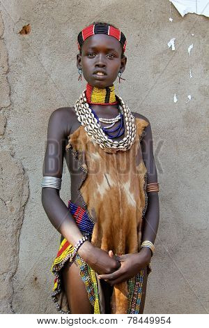 Portrait Of The African Woman.