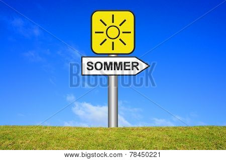 Yellow Sign Summer