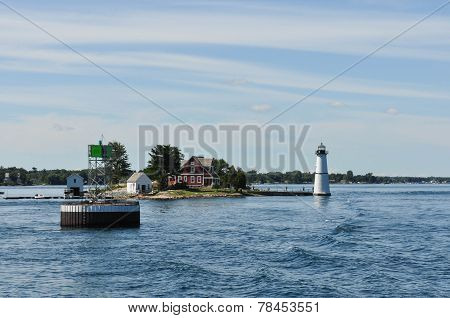 Rock Island Lighthouse, Thousand Islands