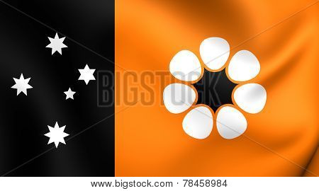 Flag Of Northern Territory, Australia.