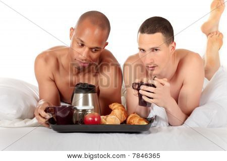 Gemischter Ethnizität schwul