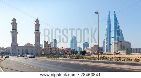 Shaikh Hamad Causeway In Manama, Bahrain