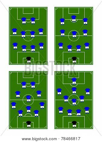 Football Team Formations