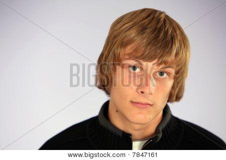 Blonde Teen Boy