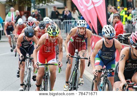 Margit Vanek, Vendula Fritova, Annamaria Mazzetti Cycling