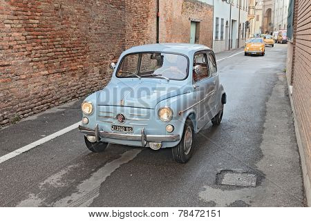 Vintage Italian Car Fiat 600