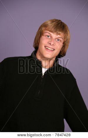 Goofy Teen Boy