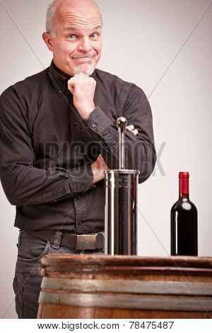 Doubtful Man About Wine Quality Controls