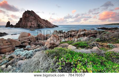Sugarloaf Rock Sunset Western Australia