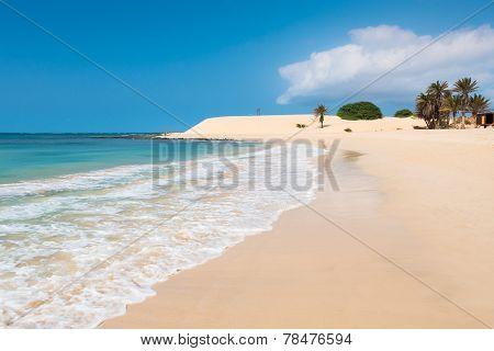 Chaves Beach Praia De Chaves In Boavista Cape Verde - Cabo Verde