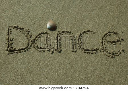 Sandwriting - Dance