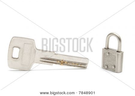 Large Key And A Small Lock