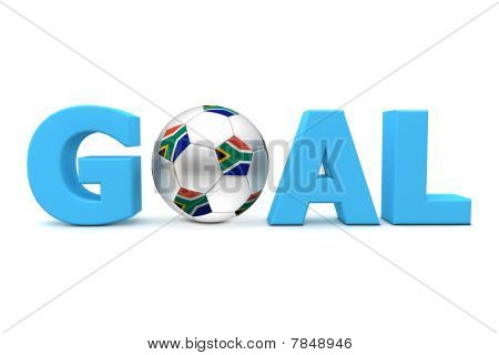 Football Goal South Africa - Blue
