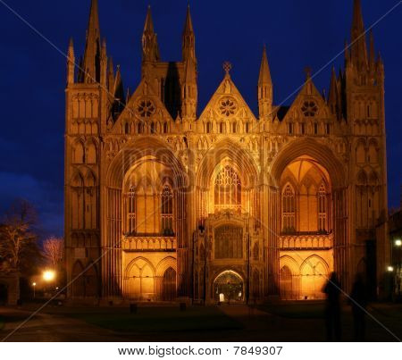 Cathedral Church Of St Peter, St Paul And St Andrew At Night