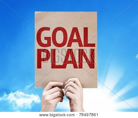 Goal Plan card with beautiful day