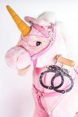 stock photo of handcuff  - concept love - JPG