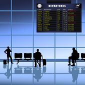 Airport -  Passengers Waiting
