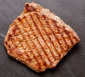 pic of rib eye steak  - rib - JPG