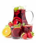 image of sangria  - Cocktail collection  - JPG