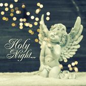 pic of little angel  - little guardian angel with shiny lights - JPG