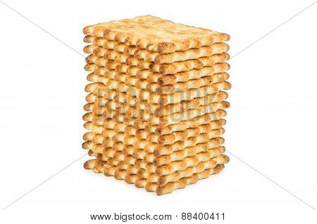 Biscuits Piled In Stack