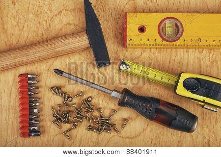 Set of manual Working tools