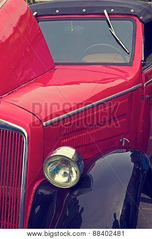 Vintage Look At One Old Car 5