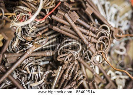 Old Mixed Keys