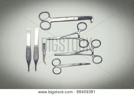 Scissors and tweezers