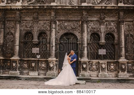 Wedding Couple Walking