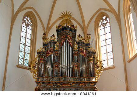 Church Pipe Organ