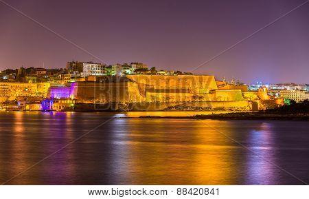 St. Andrew's Bastion In Valletta - Malta