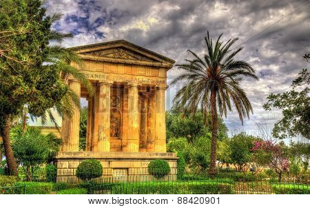 Lower Barrakka Gardens In Valletta - Malta