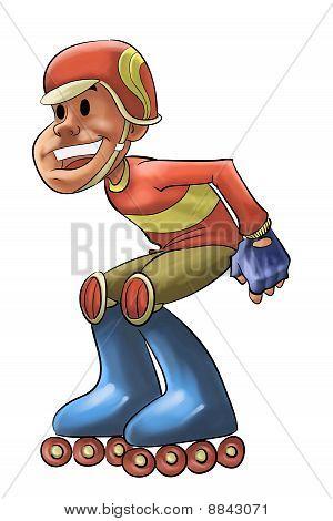 Line Skate Boy